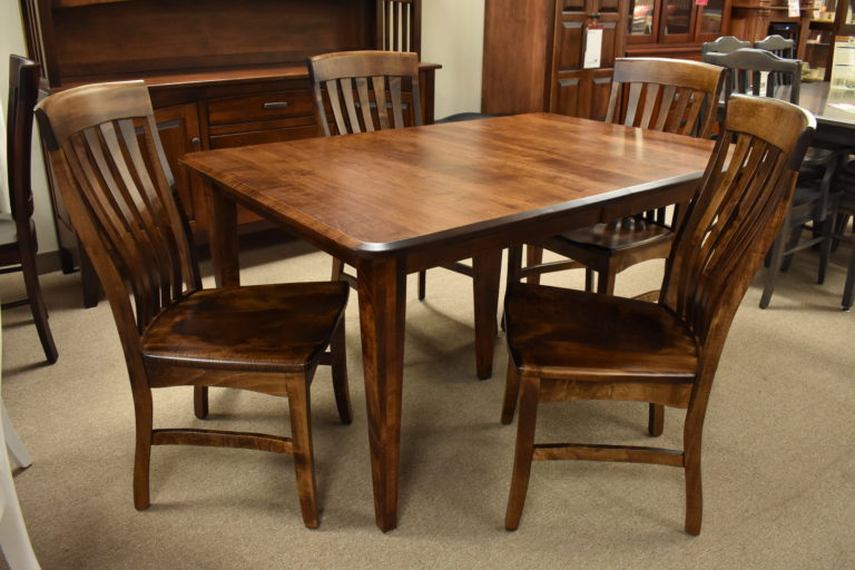 Raleigh Shaker Dining O Reilly S, Maple Wood Dining Room Furniture